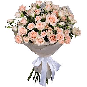 Букет из 11 кустовых роз с доставкой в Волгограде