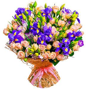 Дизайнерский букет +30% цветов с доставкой в Волгограде