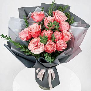 Бизнес-букет +30% цветов с доставкой в Волгограде